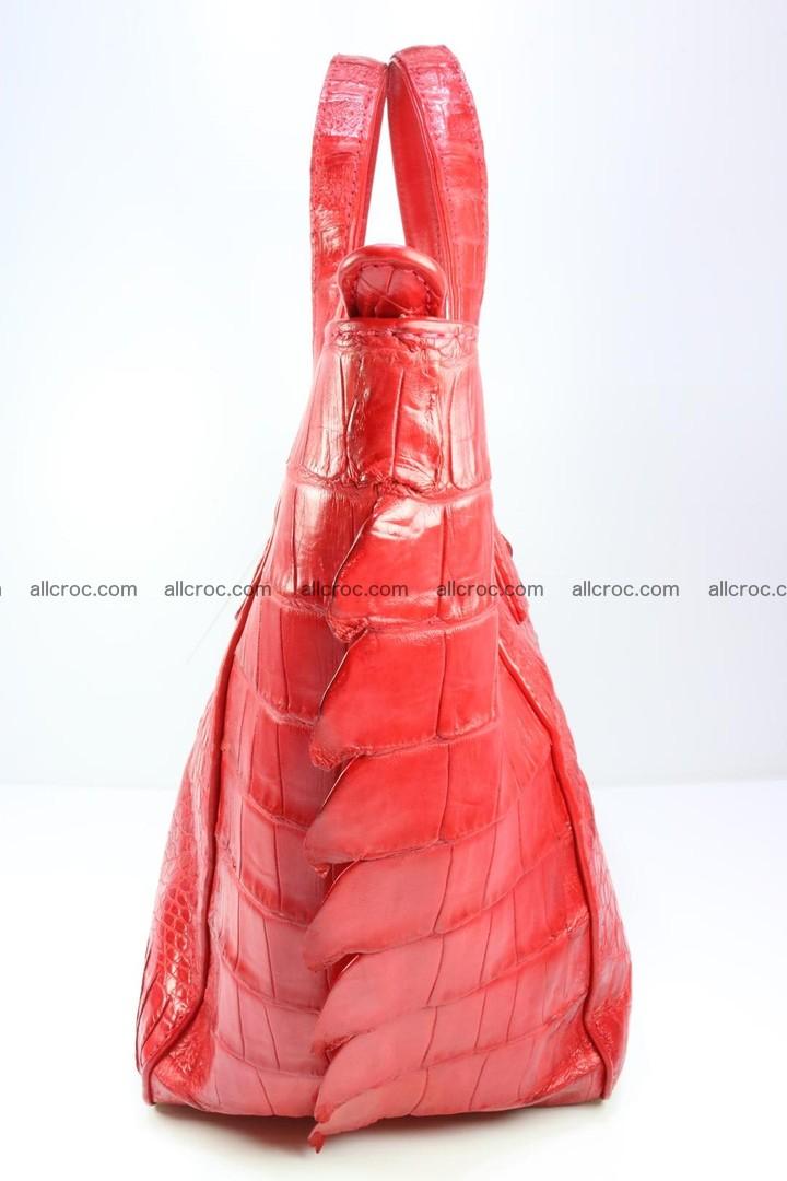 Genuine crocodile women's handbag 052 Foto 7