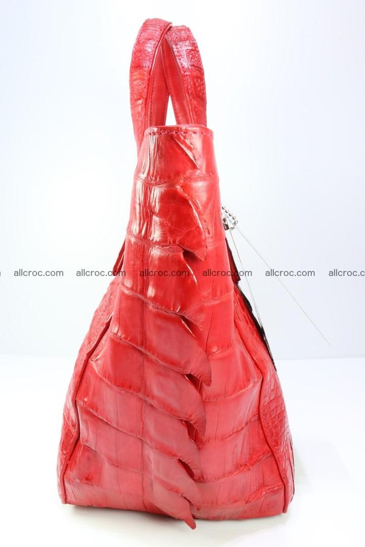 Genuine crocodile women's handbag 052 Foto 8