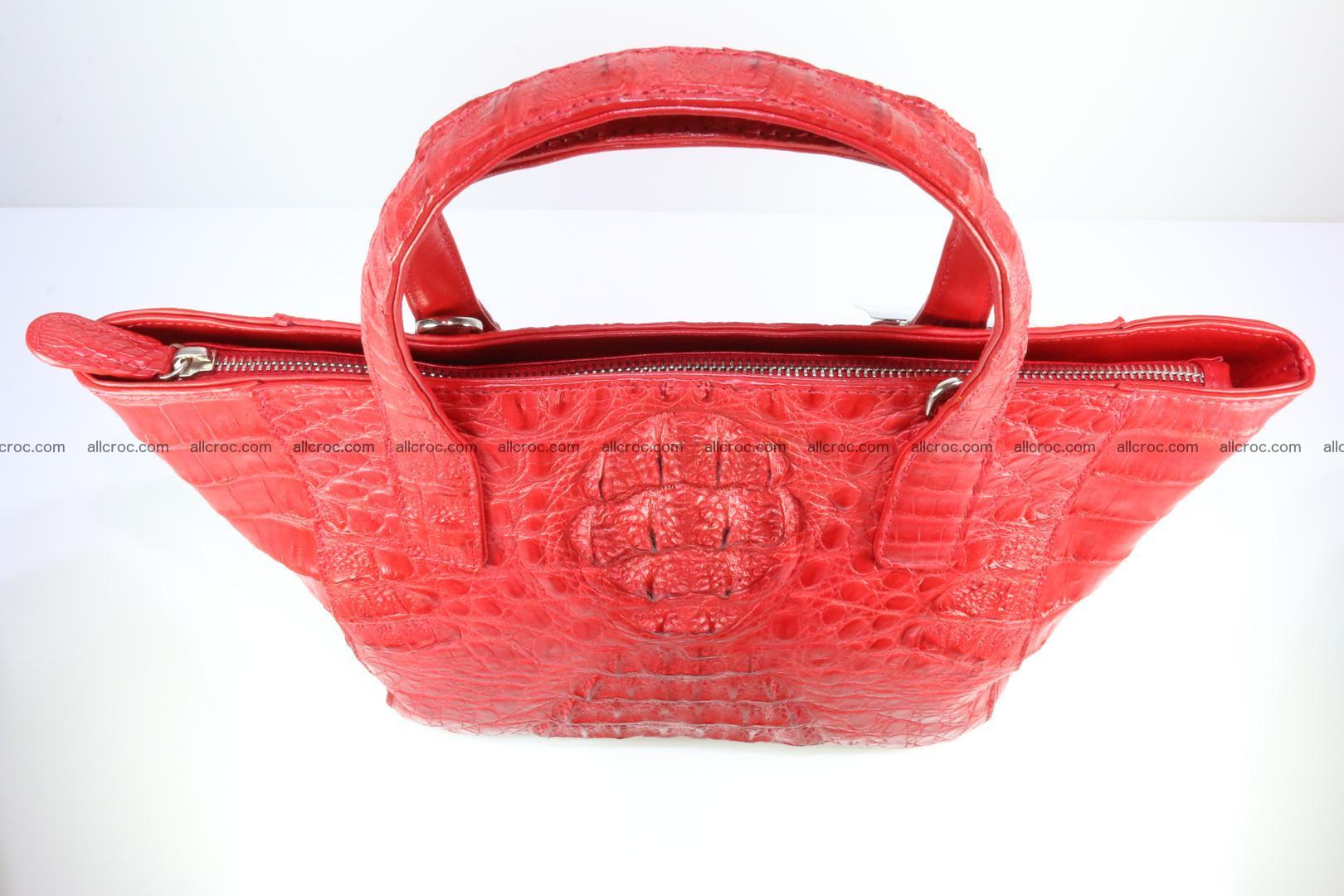 Genuine crocodile women's handbag 052 Foto 4