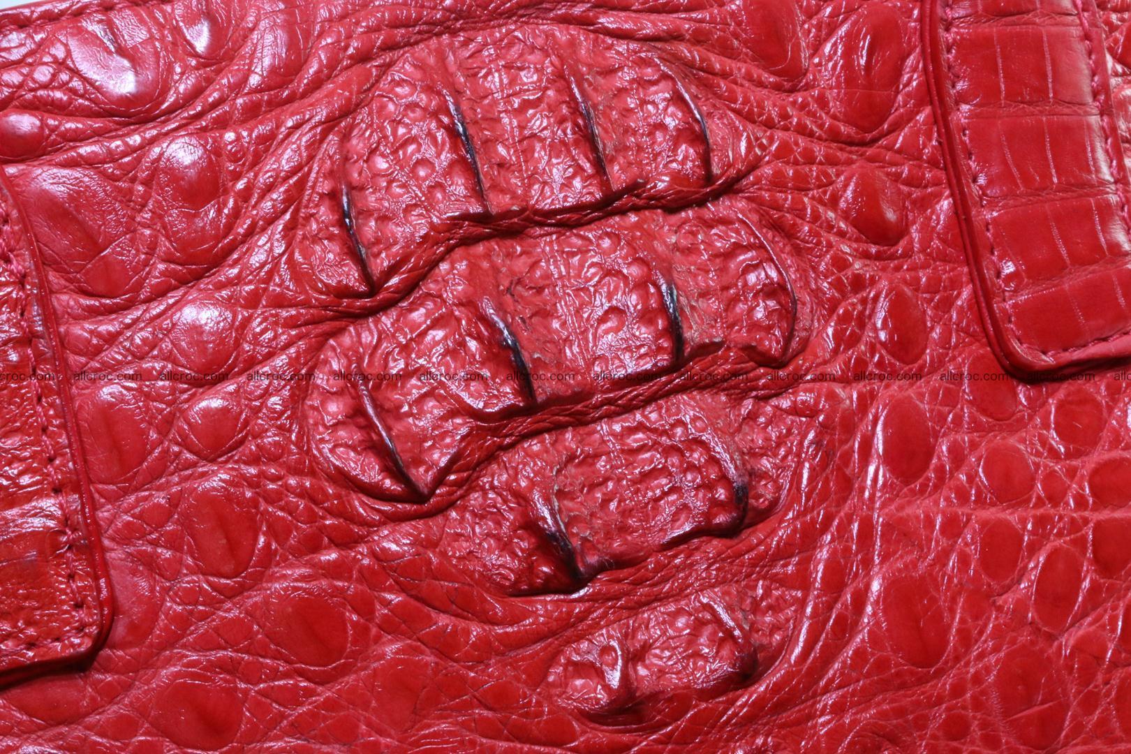 Genuine crocodile women's handbag 052 Foto 5