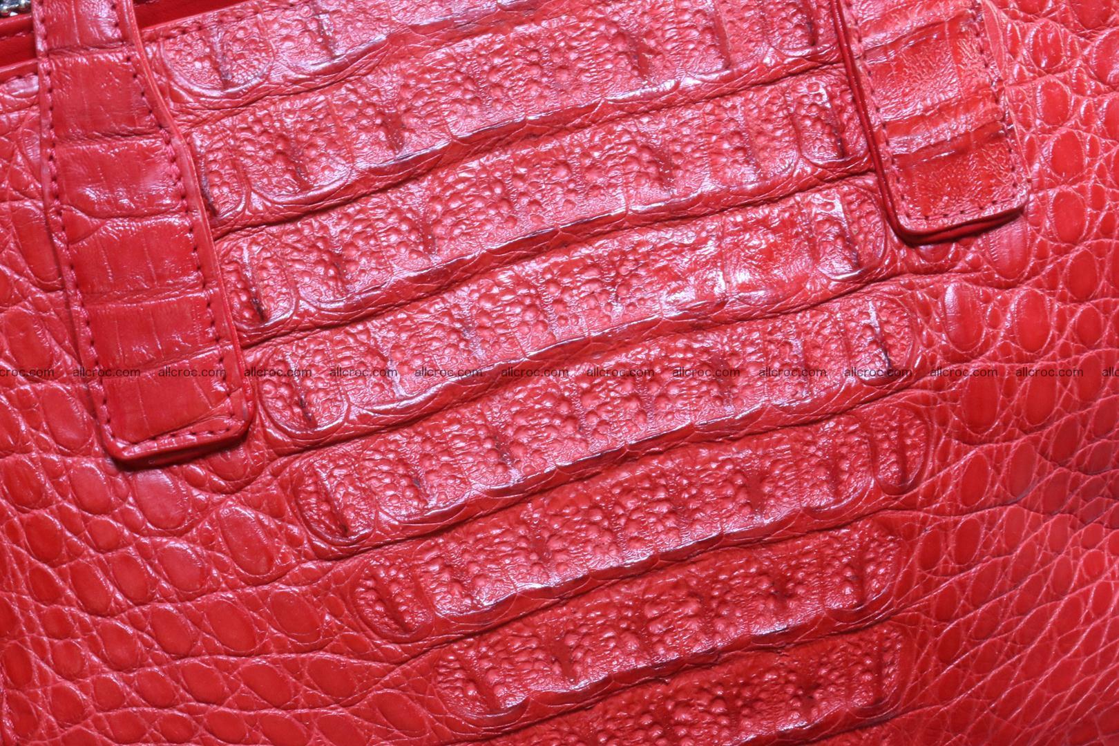 Genuine crocodile women's handbag 052 Foto 6