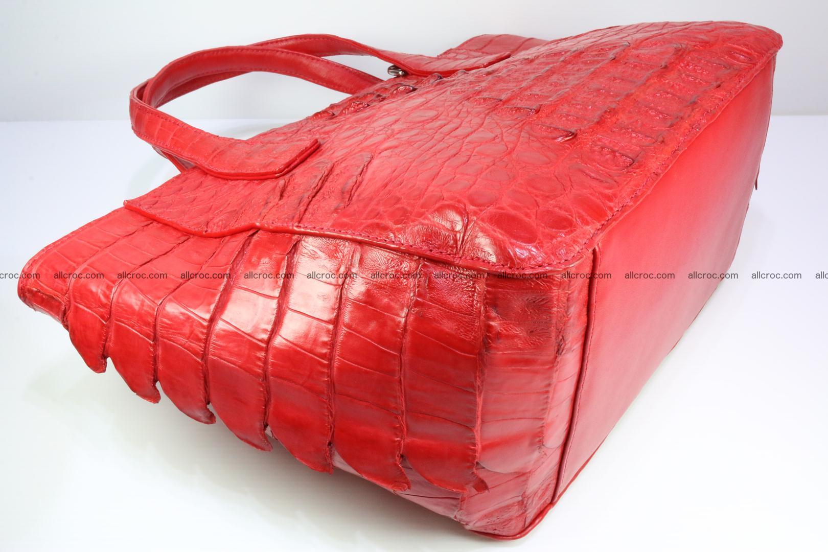 Genuine crocodile women's handbag 052 Foto 11