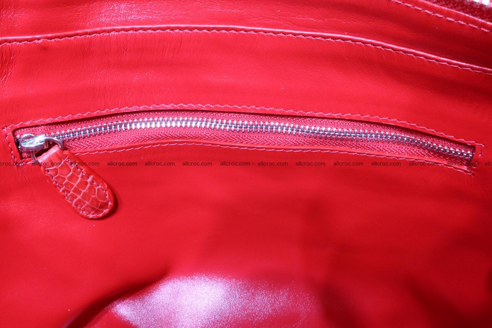 Genuine crocodile women's handbag 052 Foto 13