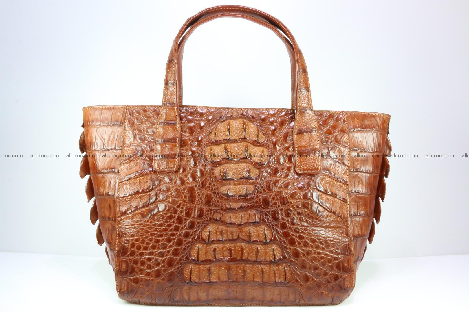 Genuine crocodile women's handbag 053 Foto 0