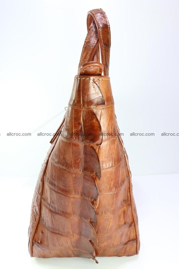 Genuine crocodile women's handbag 053 Foto 7