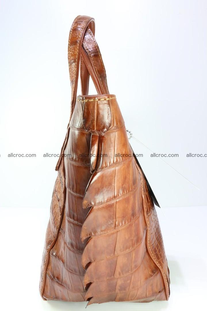 Genuine crocodile women's handbag 053 Foto 8