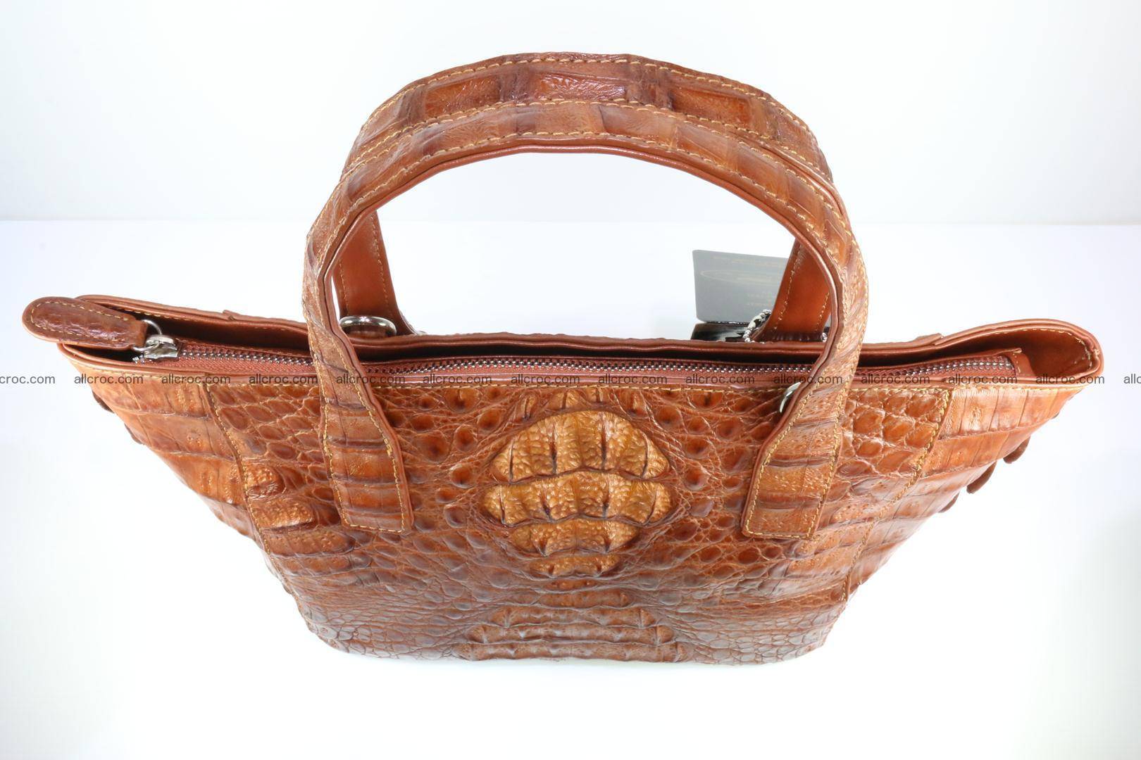 Genuine crocodile women's handbag 053 Foto 6