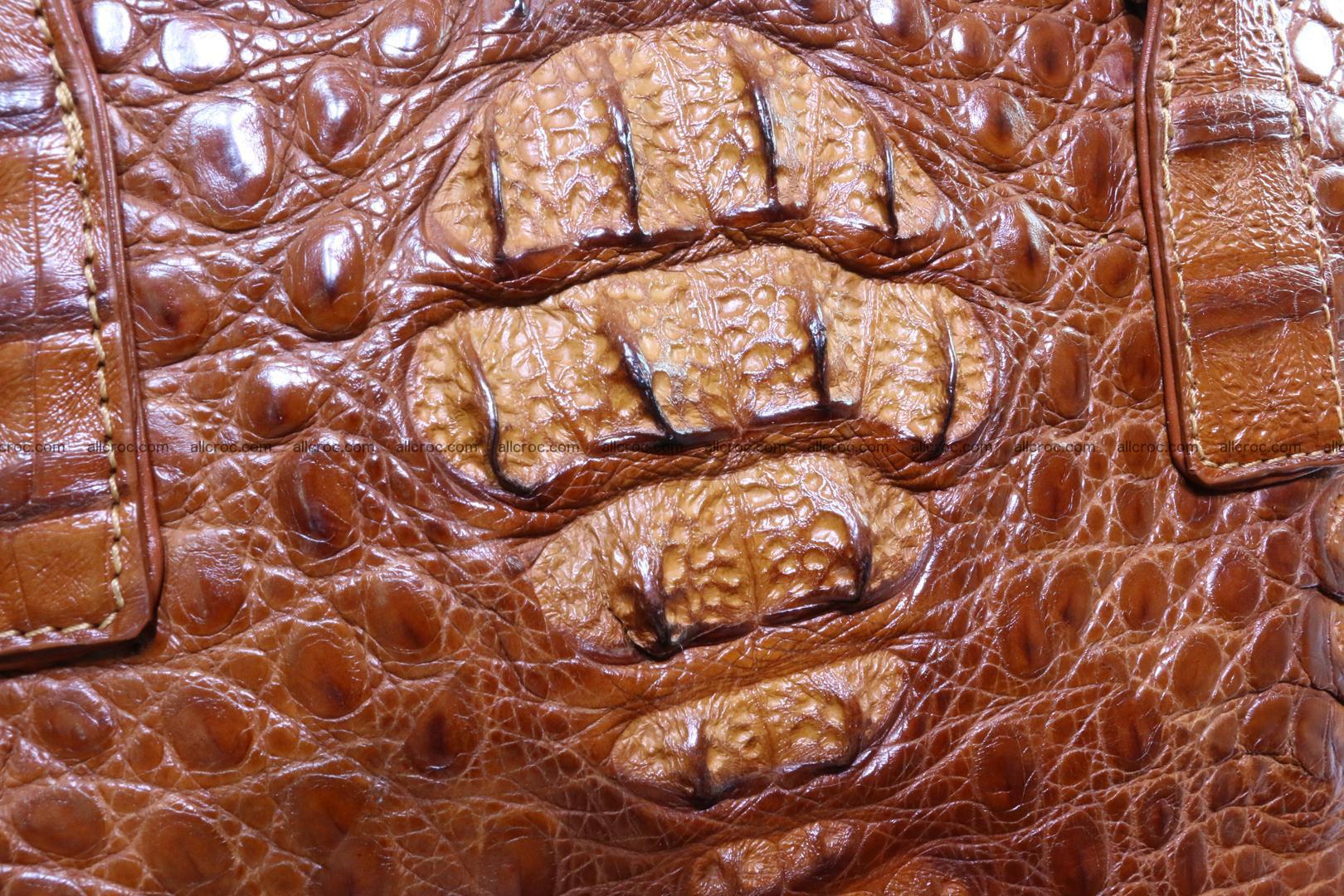Genuine crocodile women's handbag 053 Foto 4
