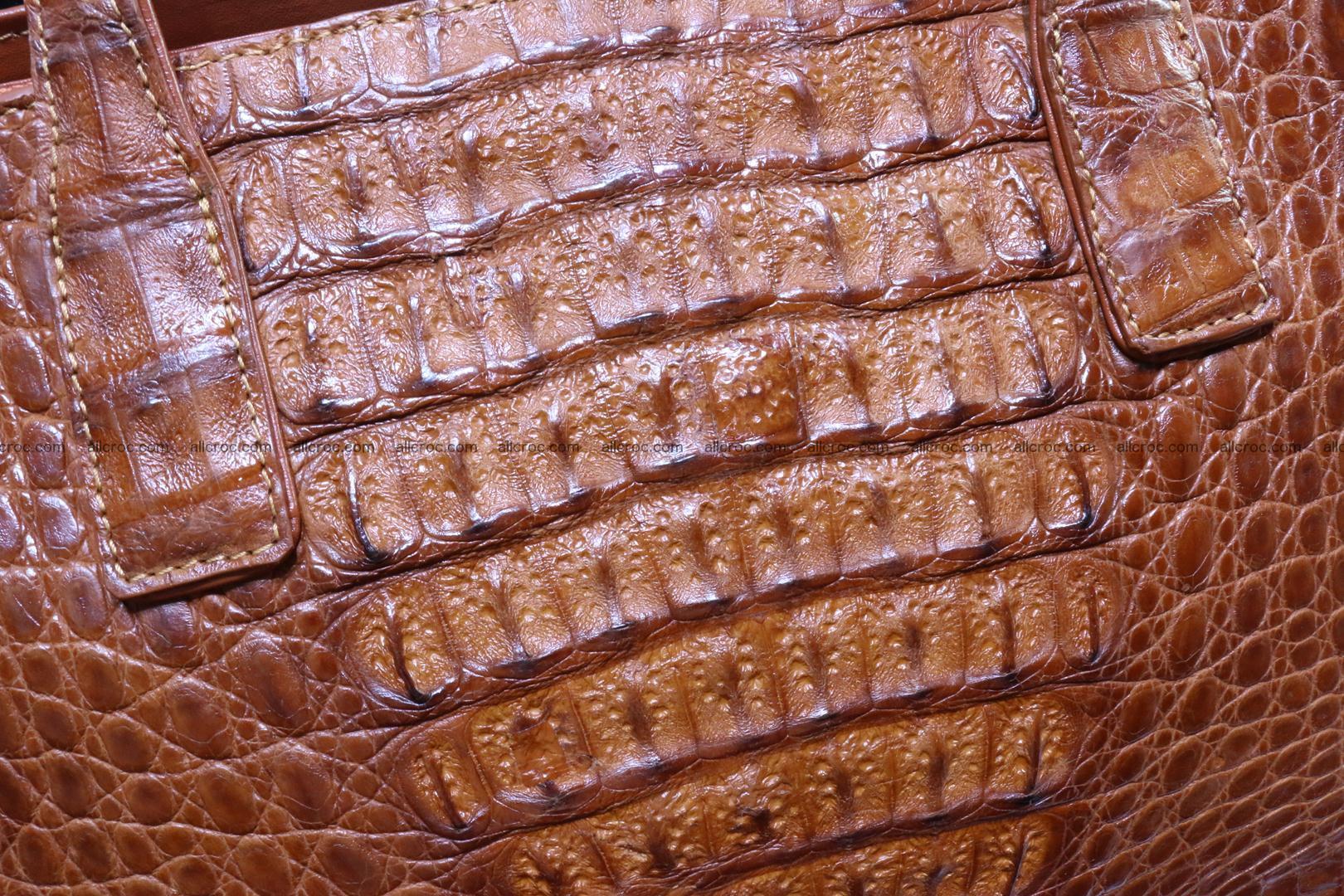 Genuine crocodile women's handbag 053 Foto 5