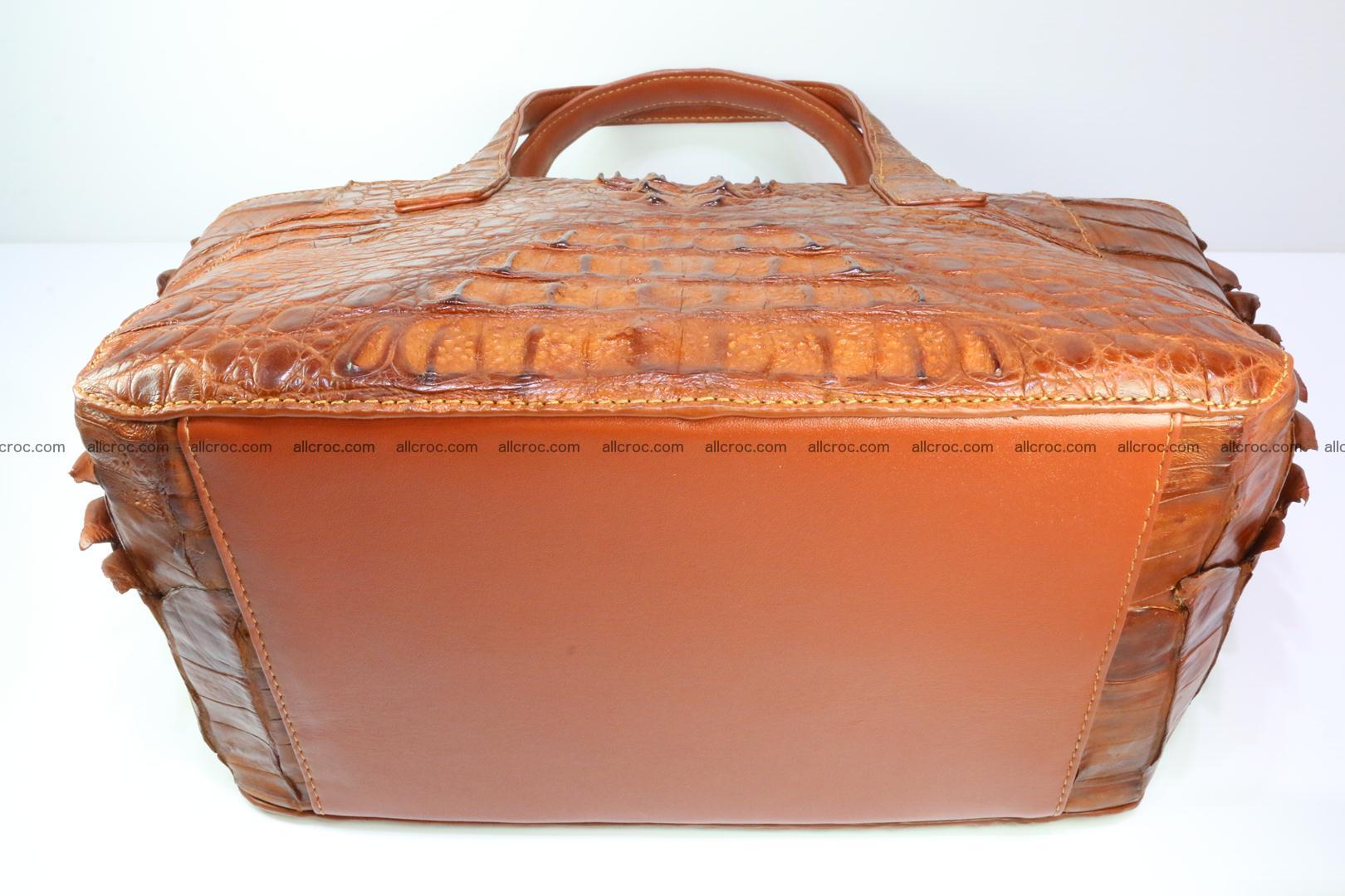Genuine crocodile women's handbag 053 Foto 11