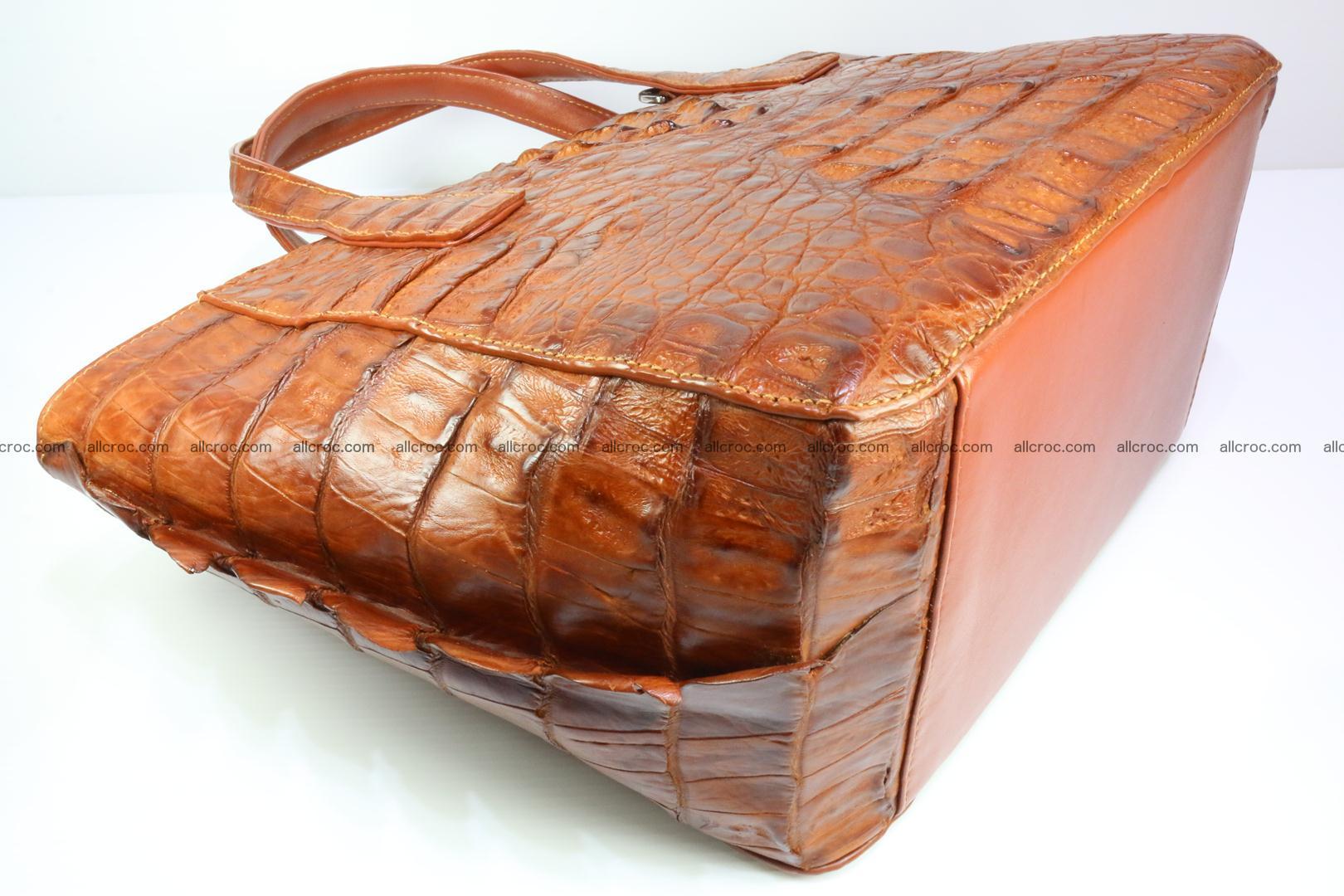 Genuine crocodile women's handbag 053 Foto 9