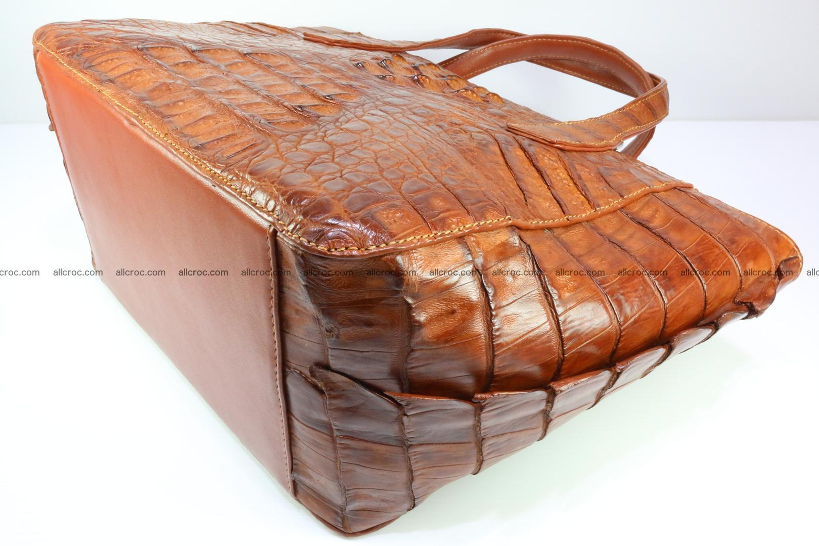 Genuine crocodile women's handbag 053 Foto 10