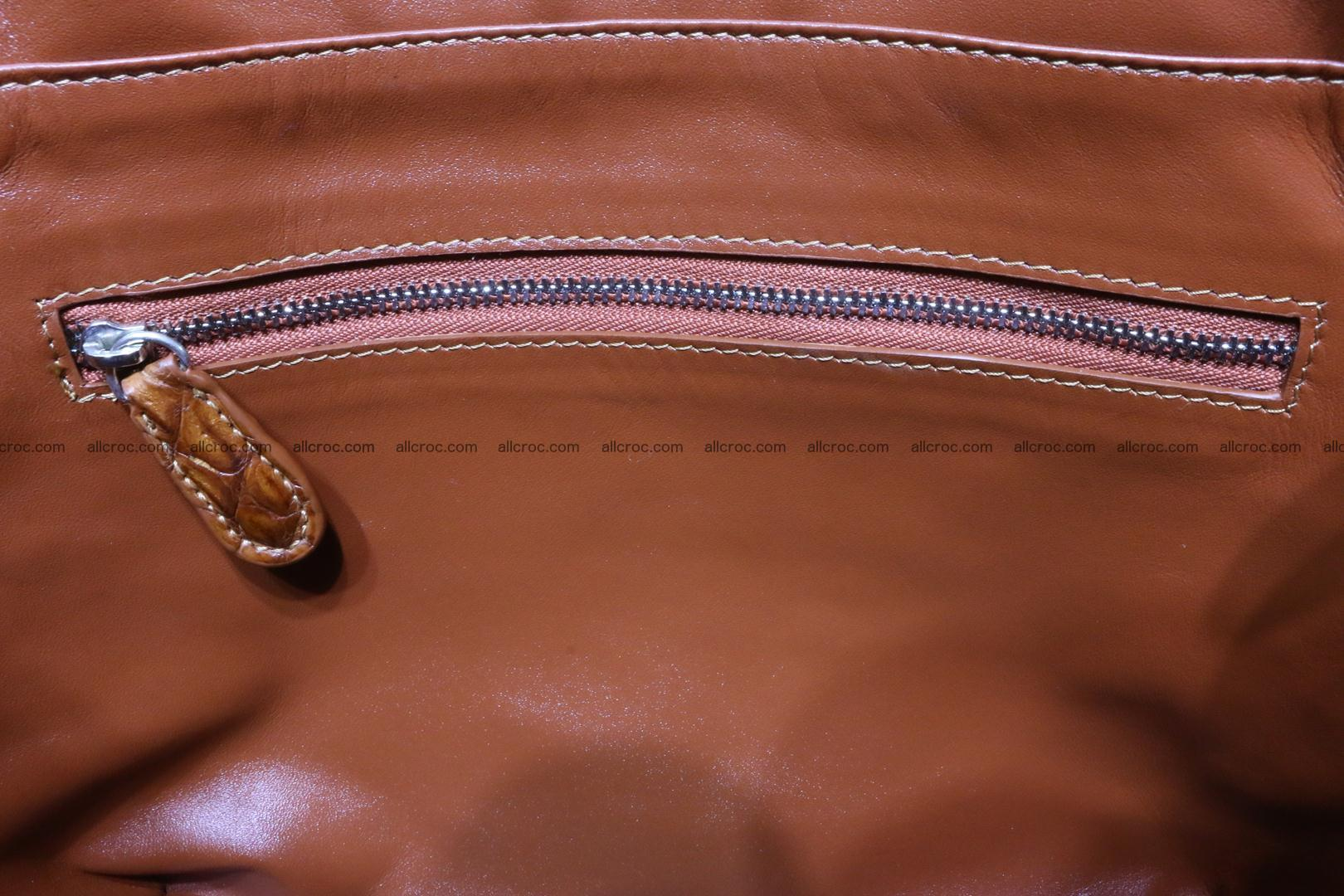 Genuine crocodile women's handbag 053 Foto 13