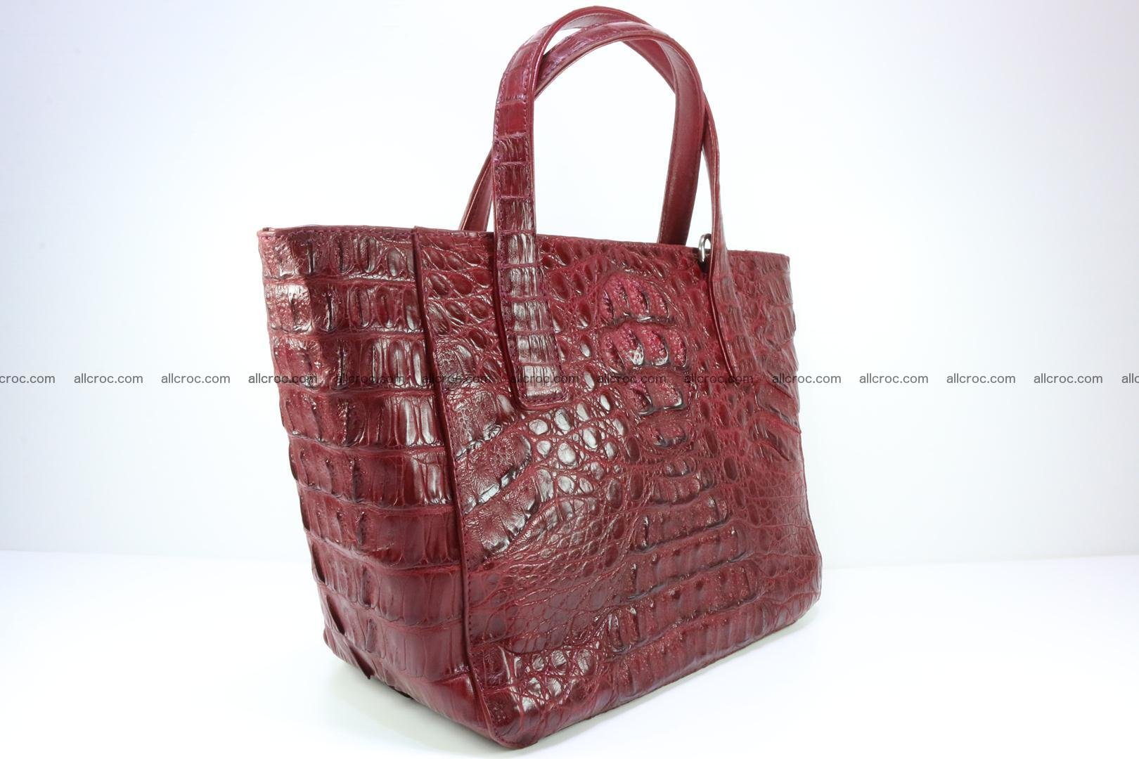 Genuine crocodile women's handbag 054 Foto 1