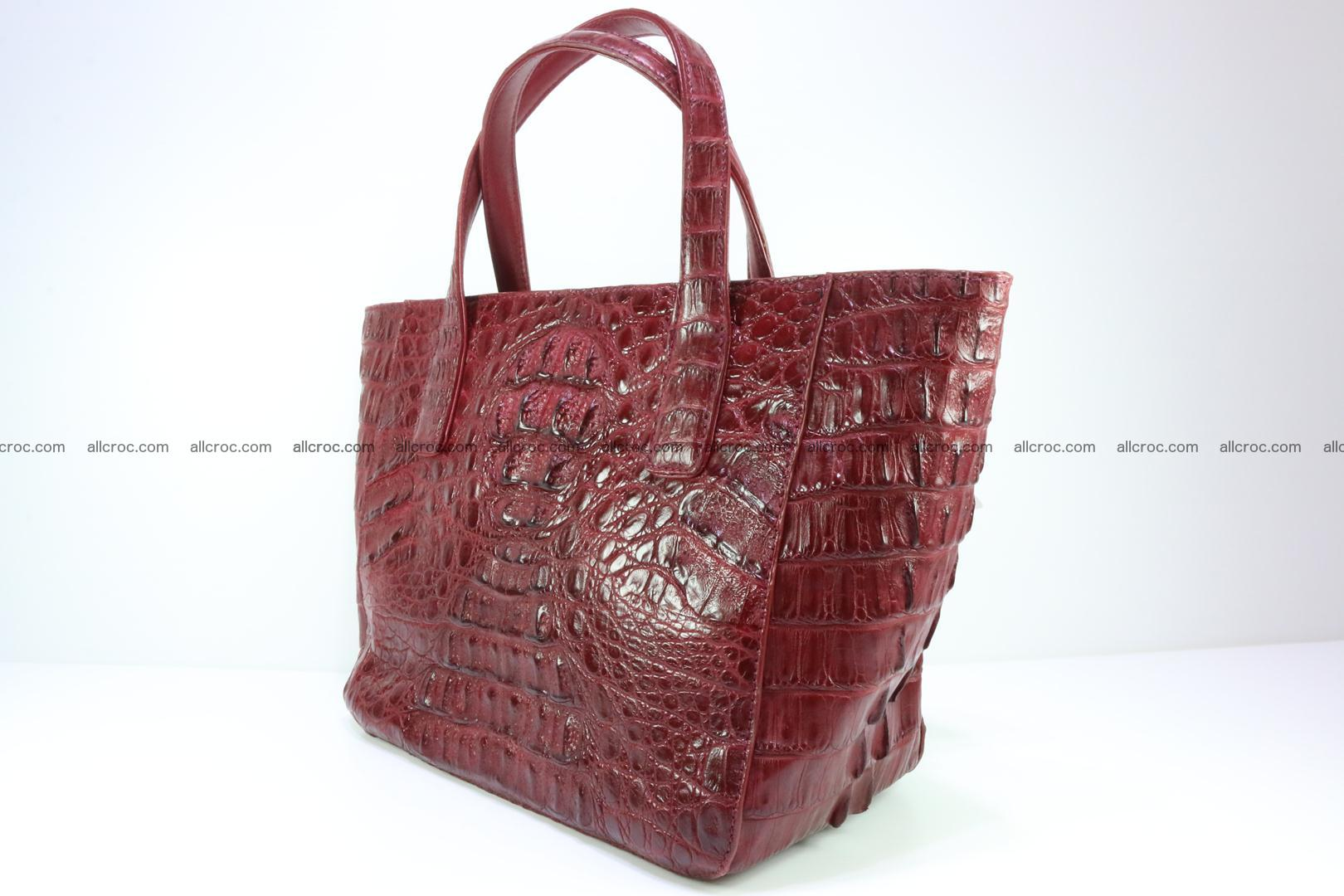Genuine crocodile women's handbag 054 Foto 3