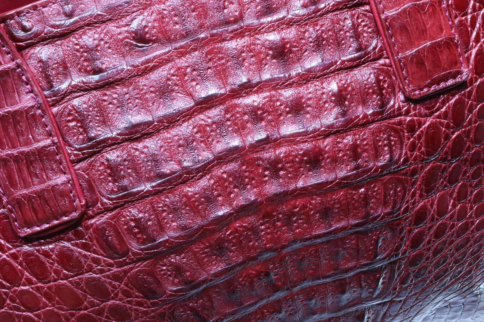 Genuine crocodile women's handbag 054 Foto 7