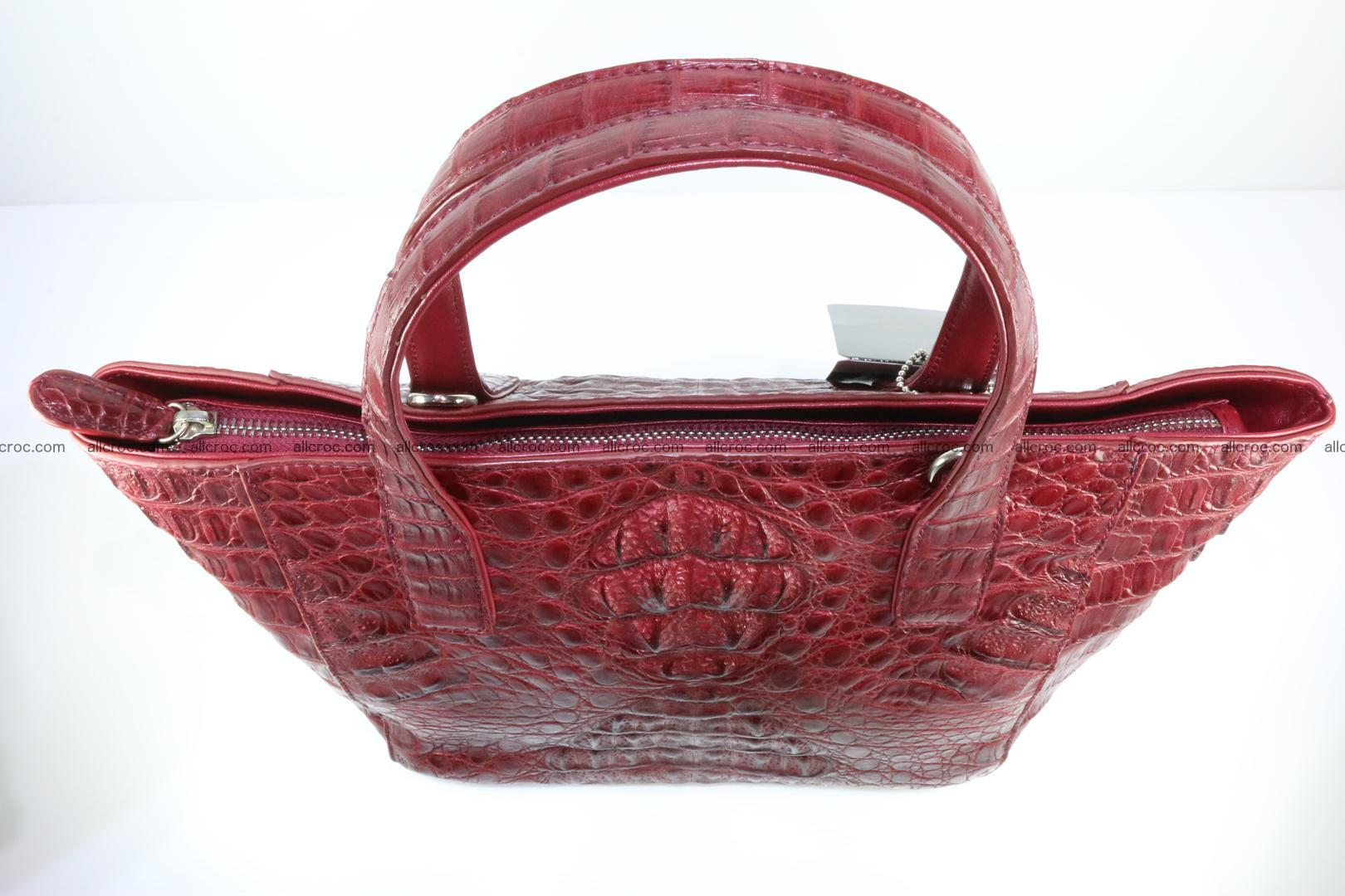 Genuine crocodile women's handbag 054 Foto 4