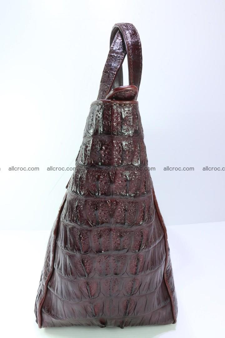 Genuine crocodile women's handbag 055 Foto 7