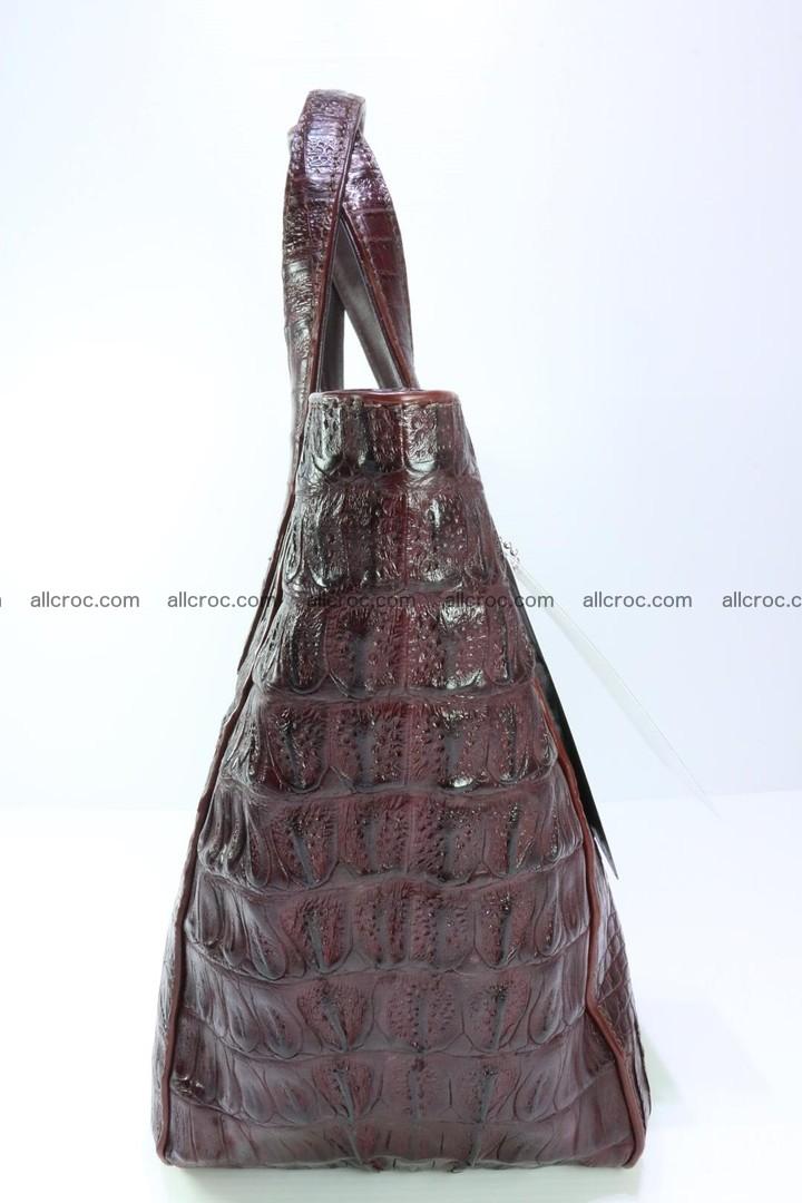 Genuine crocodile women's handbag 055 Foto 8
