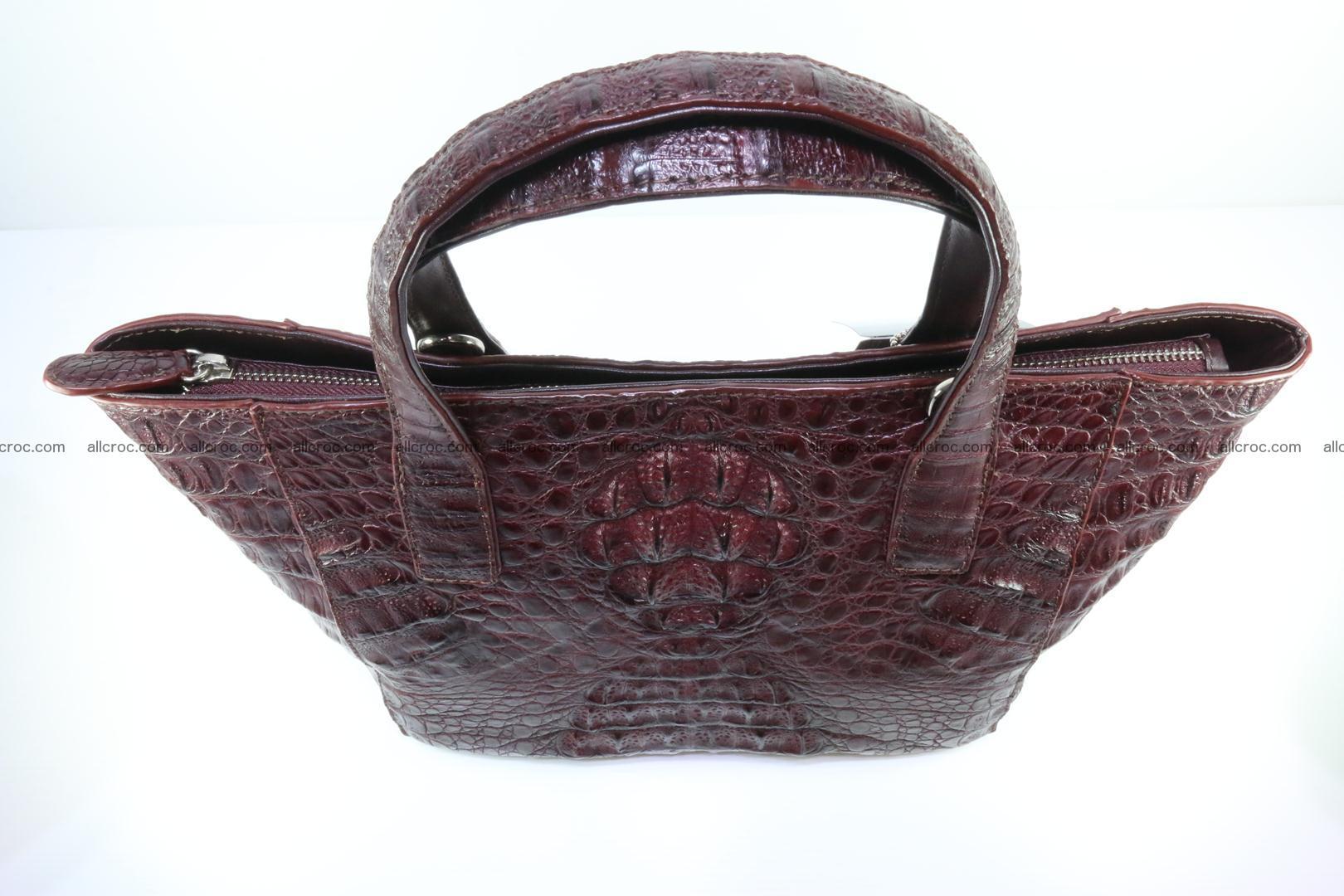 Genuine crocodile women's handbag 055 Foto 6