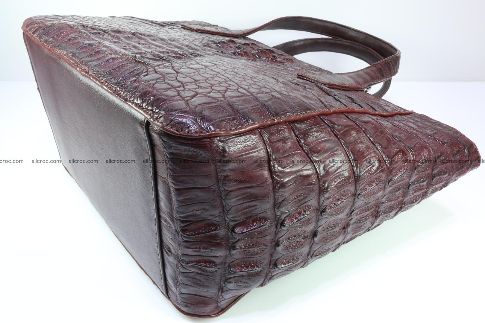 Genuine crocodile women's handbag 055 Foto 10