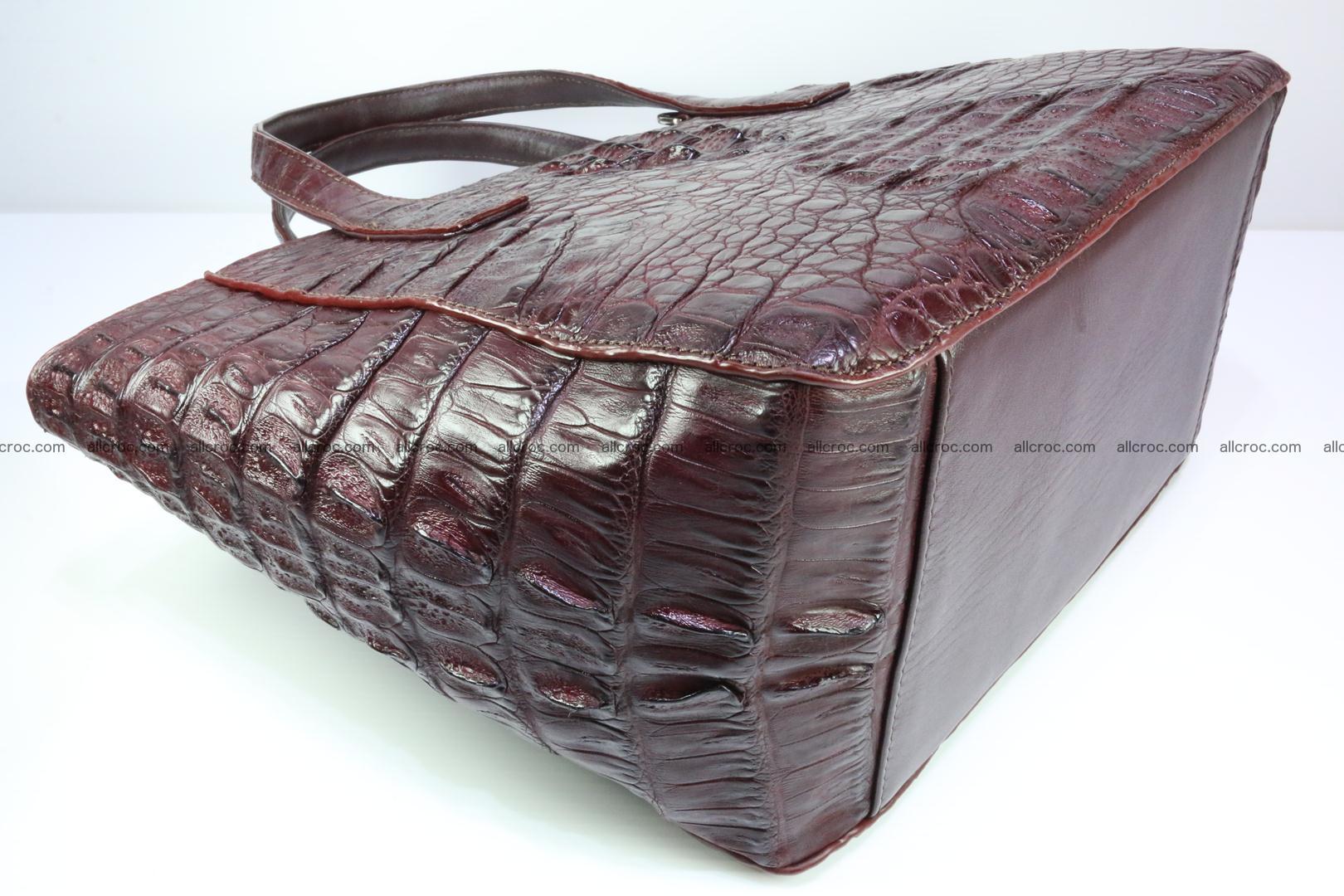 Genuine crocodile women's handbag 055 Foto 11