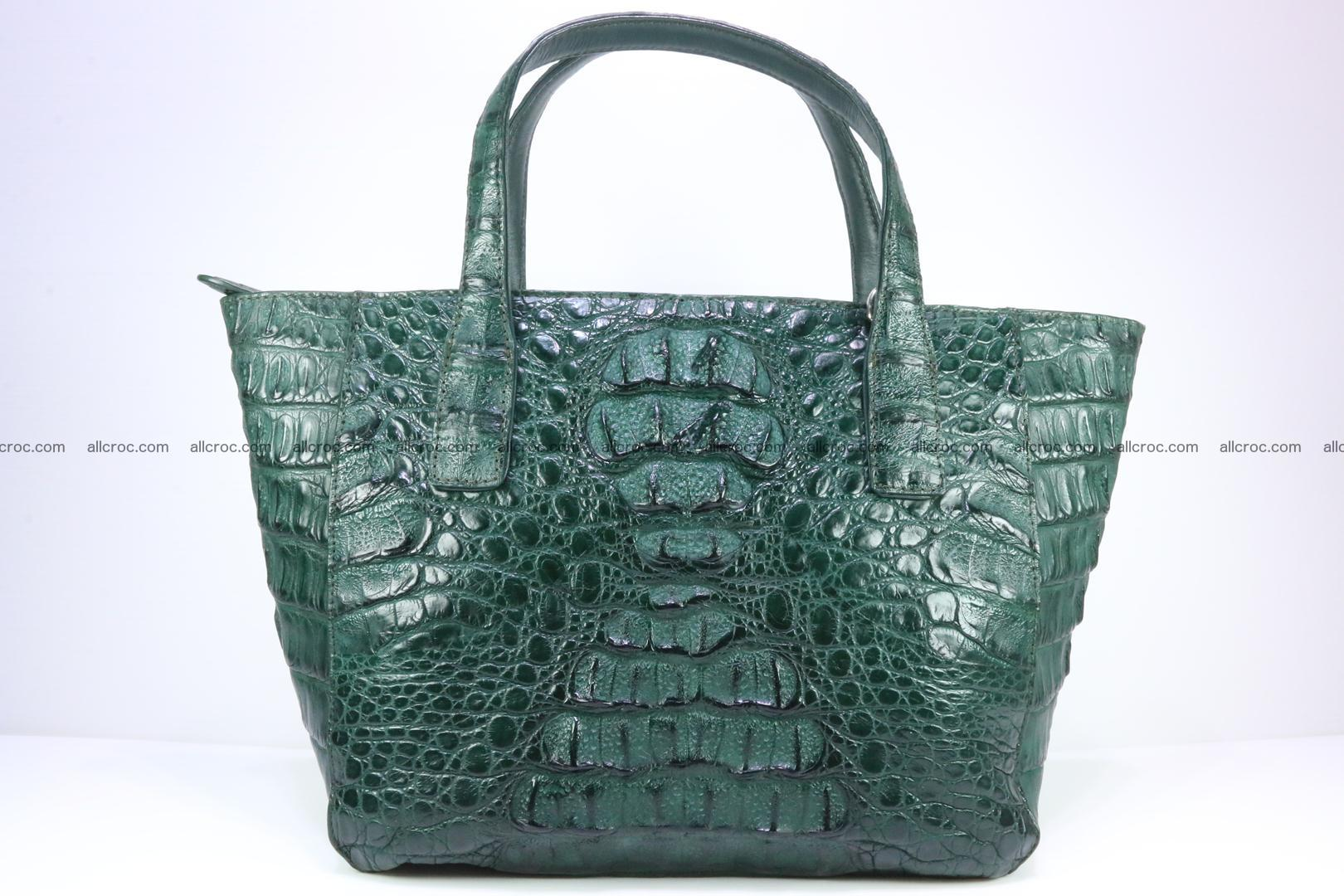 Genuine crocodile women's handbag 056 Foto 0