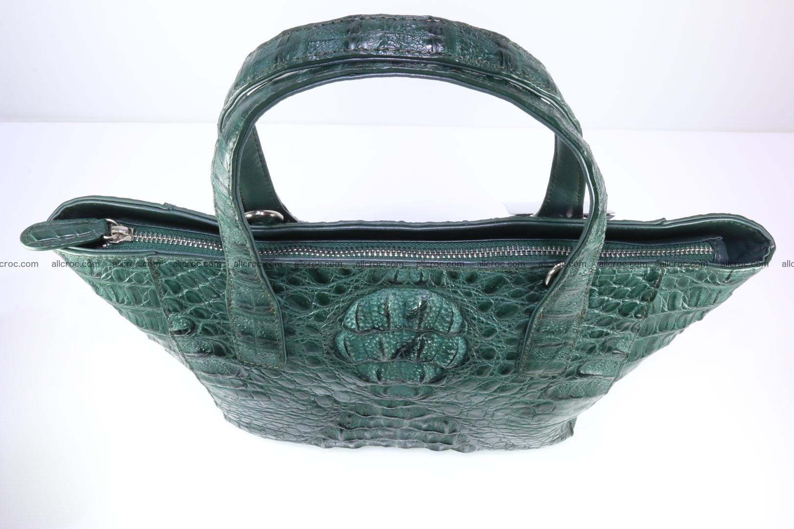 Genuine crocodile women's handbag 056 Foto 6