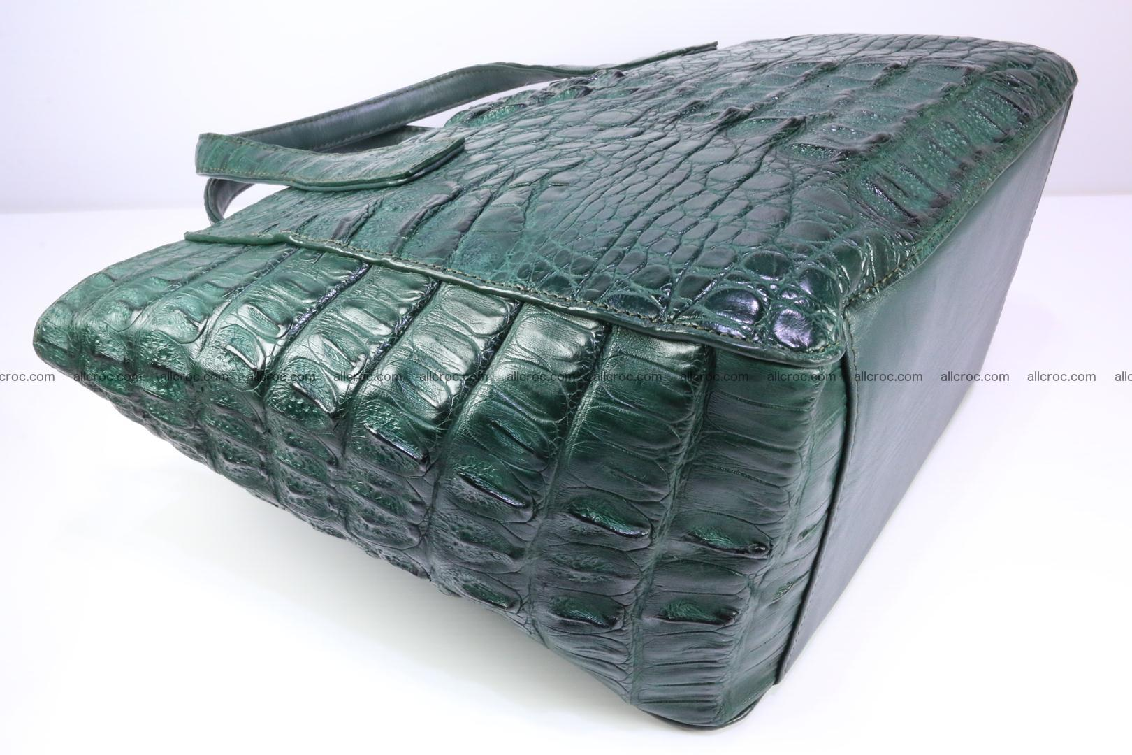 Genuine crocodile women's handbag 056 Foto 9