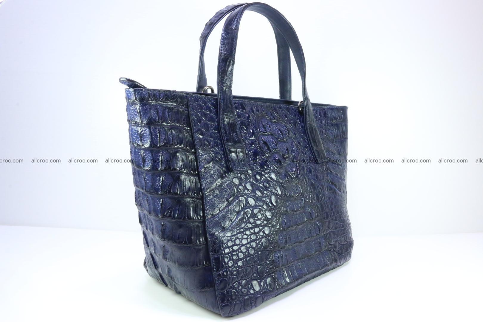Genuine crocodile women's handbag 057 Foto 5