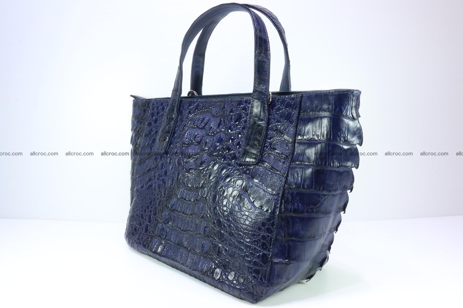 Genuine crocodile women's handbag 057 Foto 6