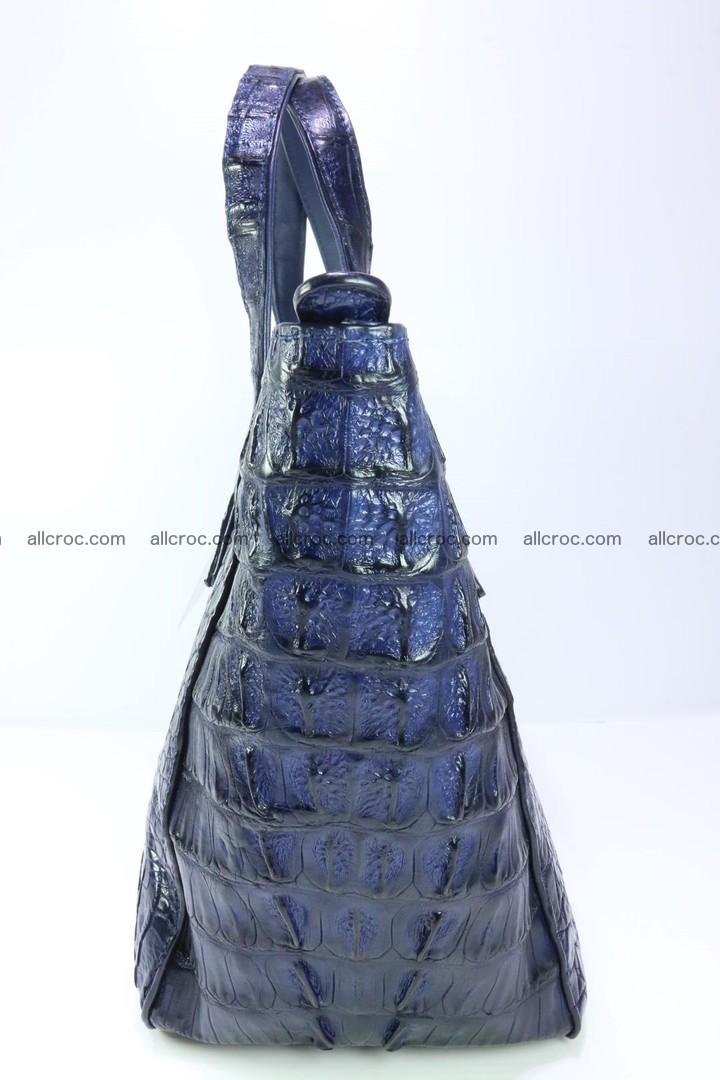 Genuine crocodile women's handbag 057 Foto 7