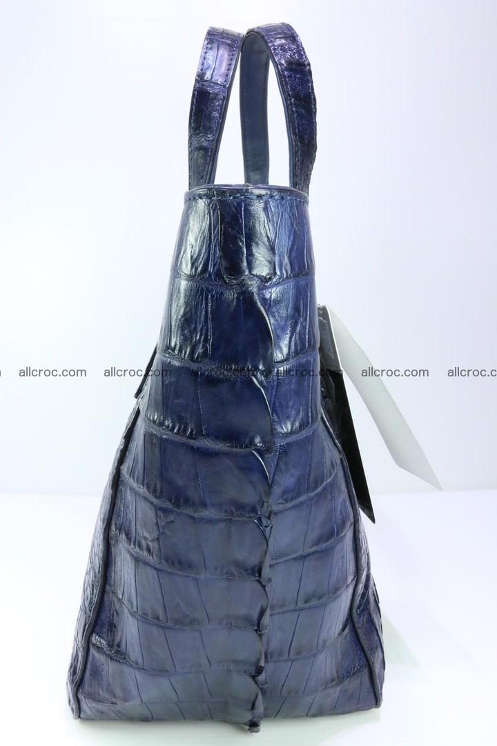 Genuine crocodile women's handbag 057 Foto 4