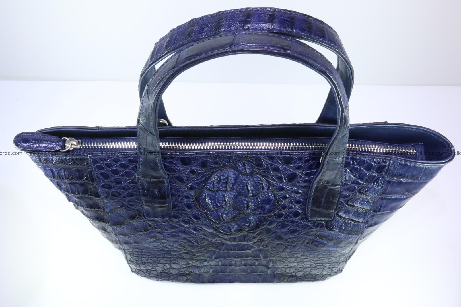 Genuine crocodile women's handbag 057 Foto 8