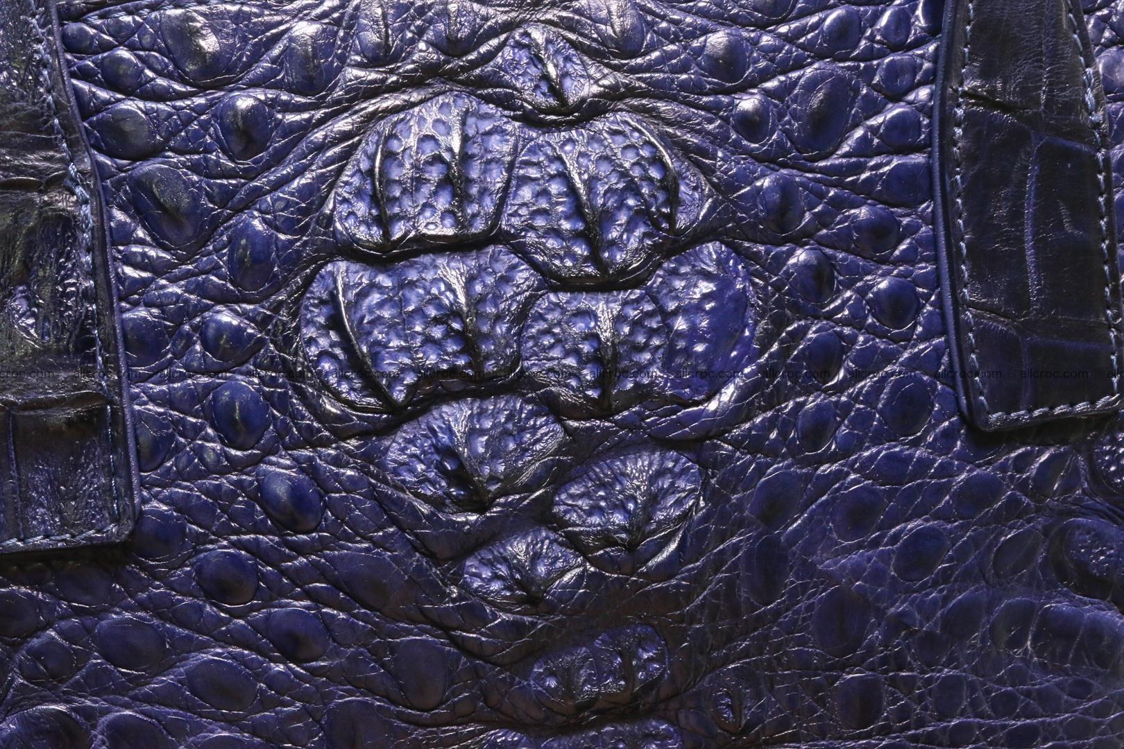 Genuine crocodile women's handbag 057 Foto 1