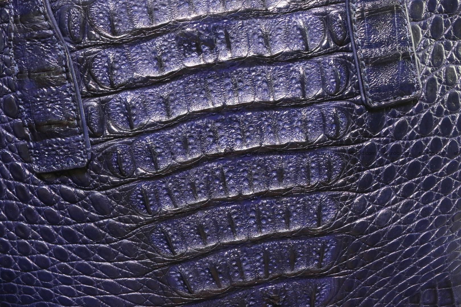 Genuine crocodile women's handbag 057 Foto 2