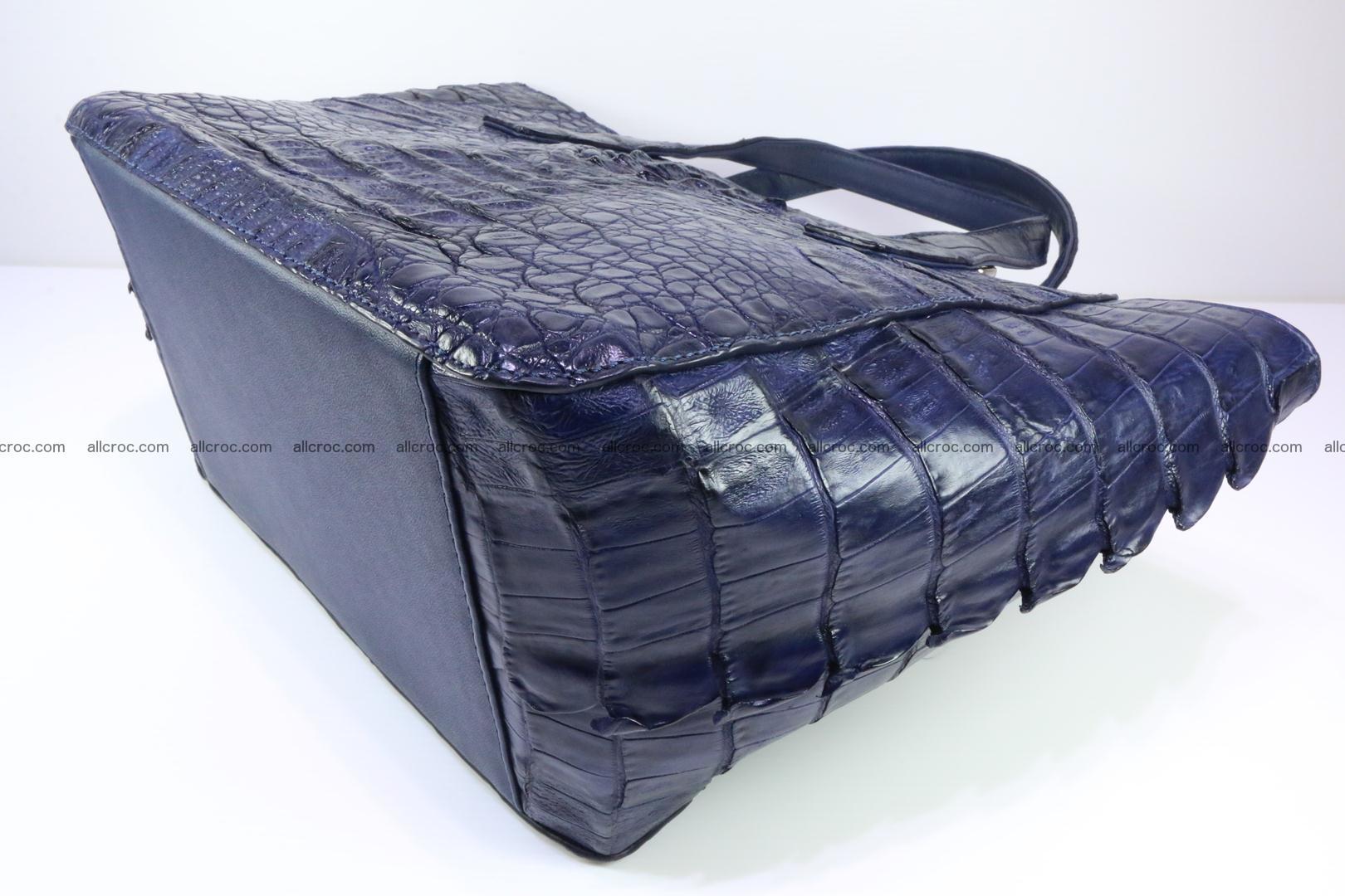 Genuine crocodile women's handbag 057 Foto 10