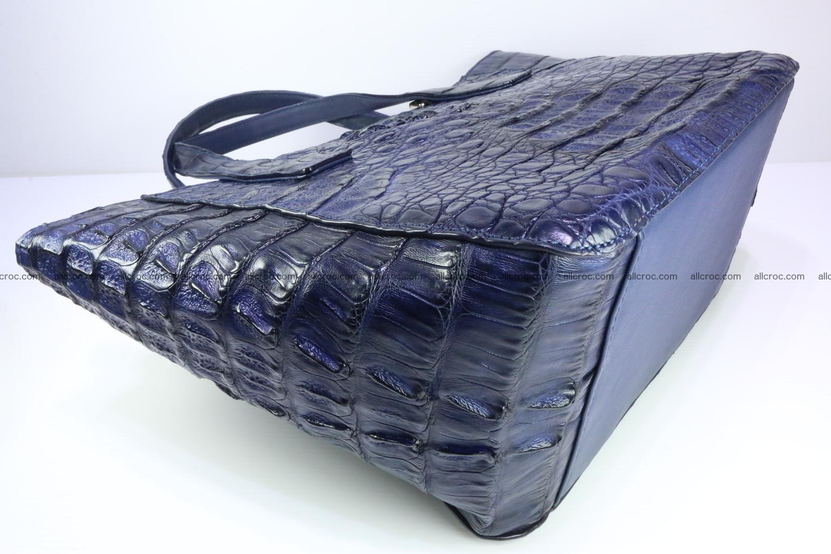 Genuine crocodile women's handbag 057 Foto 11