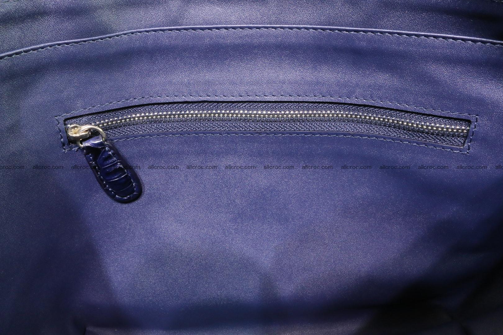 Genuine crocodile women's handbag 057 Foto 14