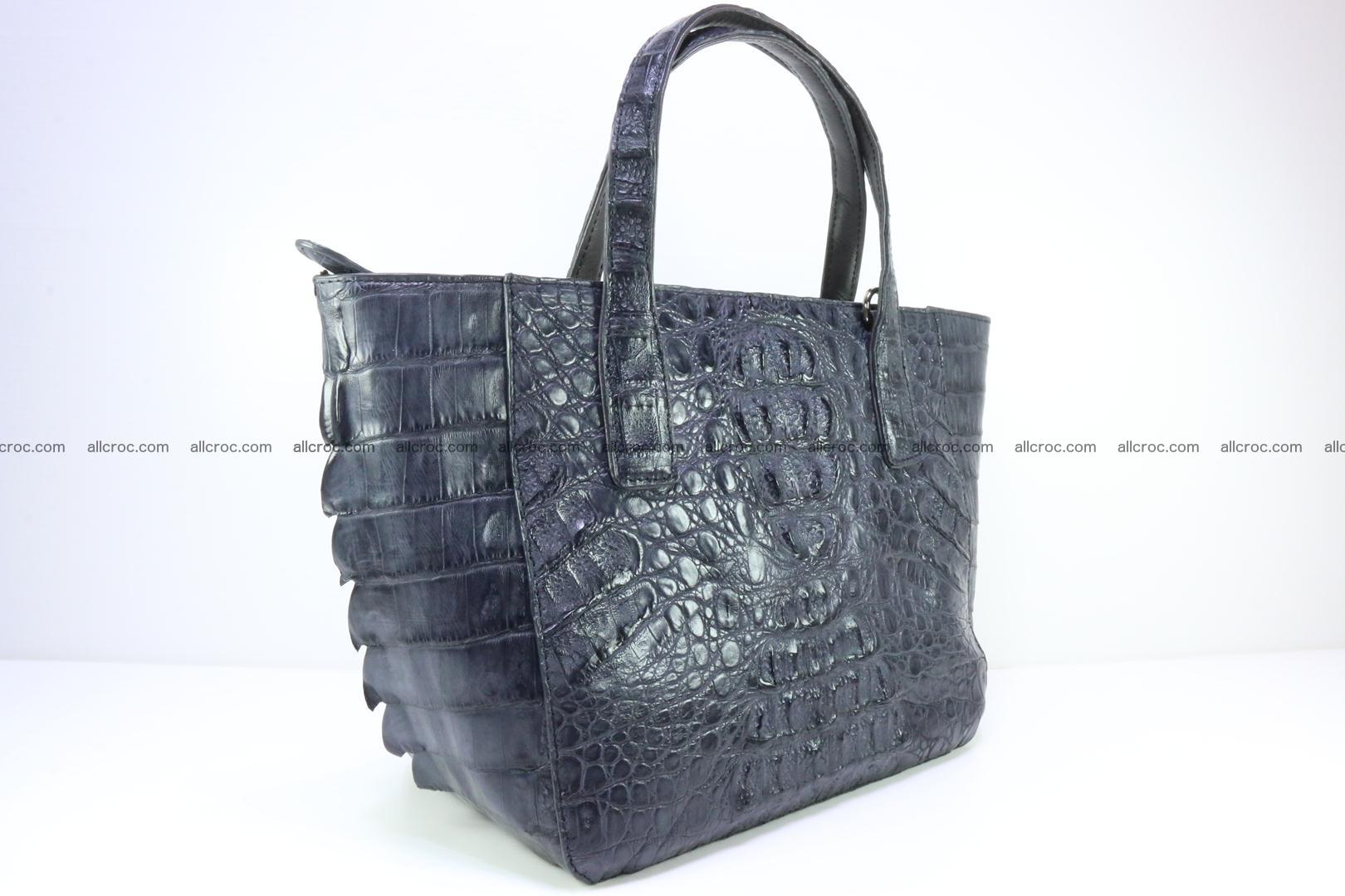 Genuine crocodile women's handbag 058 Foto 1