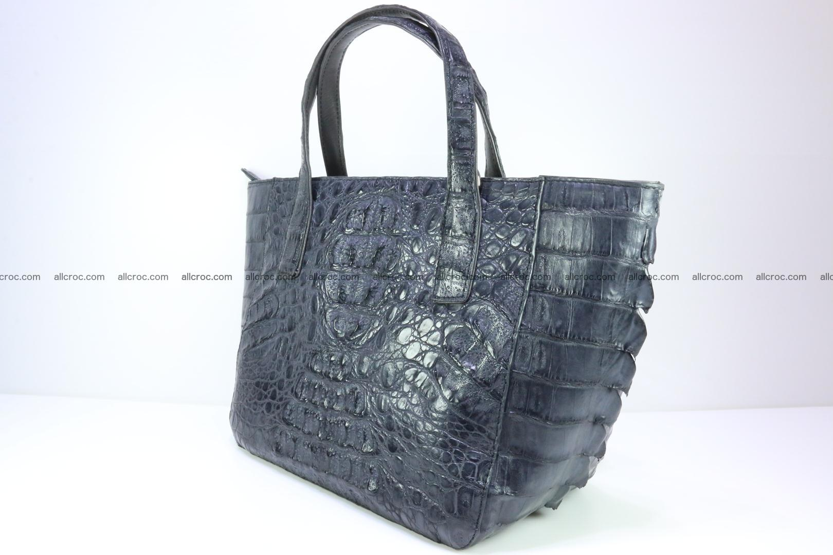 Genuine crocodile women's handbag 058 Foto 5