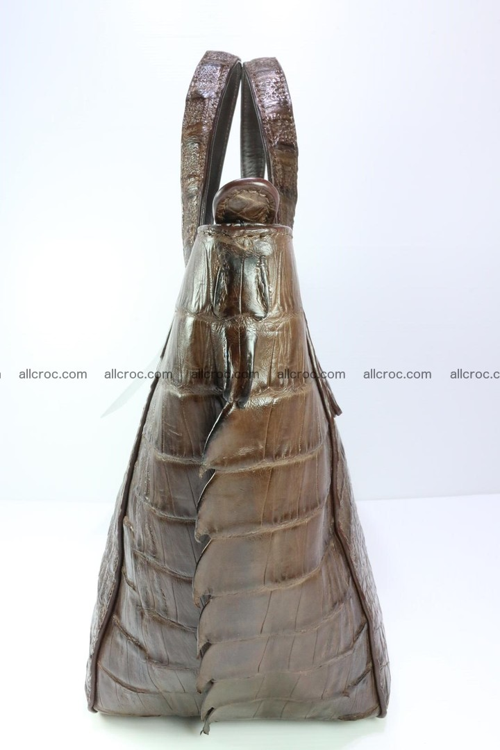 Genuine crocodile women's handbag 059 Foto 6