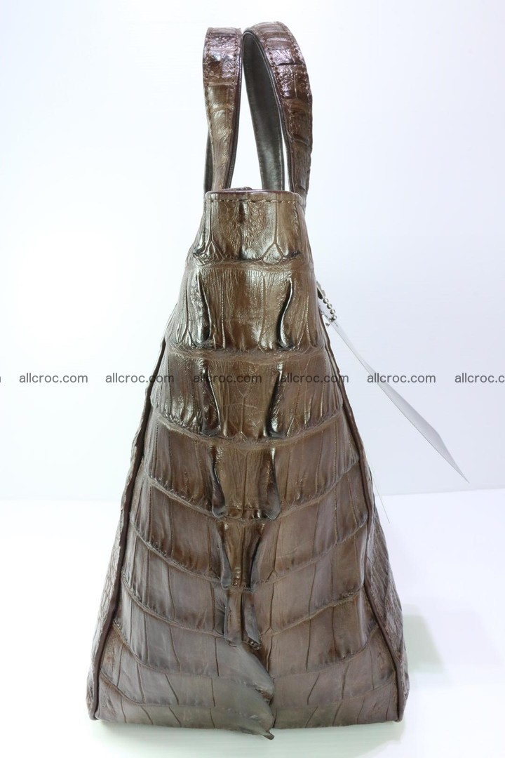Genuine crocodile women's handbag 059 Foto 7