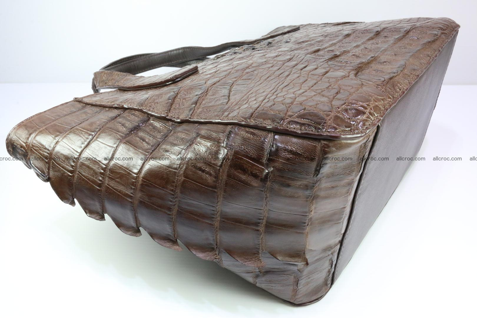 Genuine crocodile women's handbag 059 Foto 9