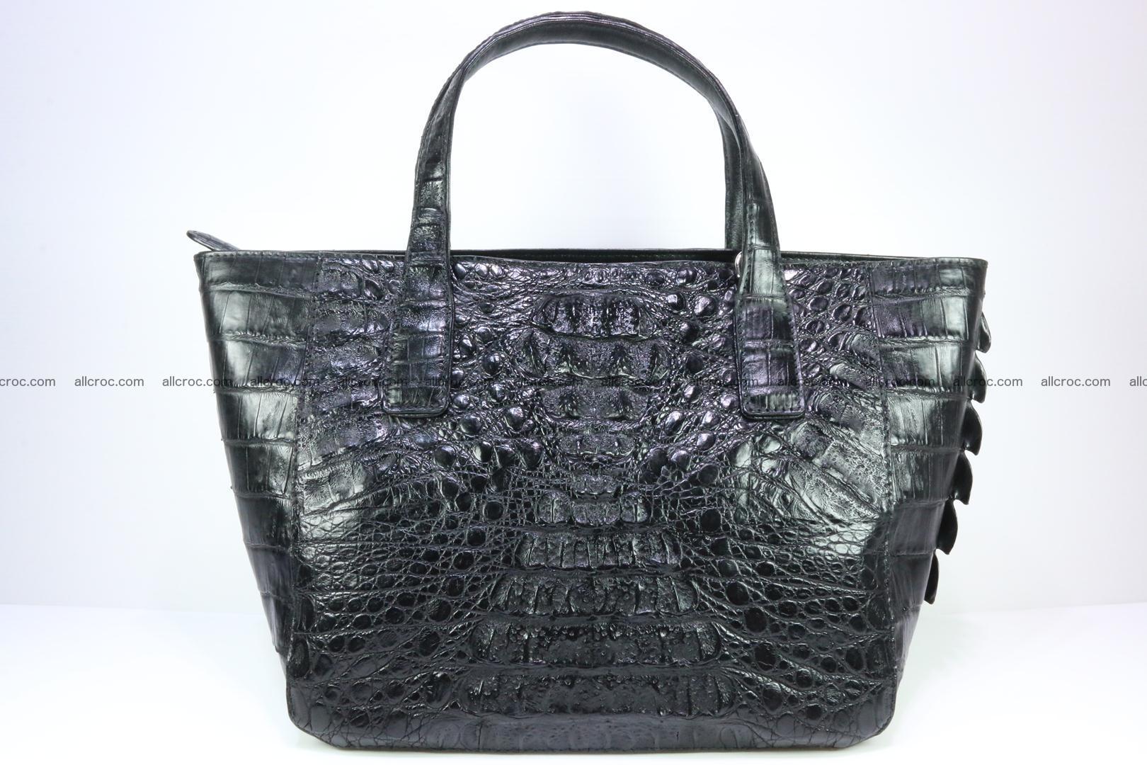Genuine crocodile women's handbag 060 Foto 0