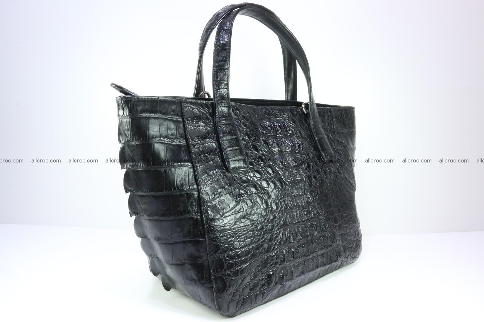 Genuine crocodile women's handbag 060 Foto 2
