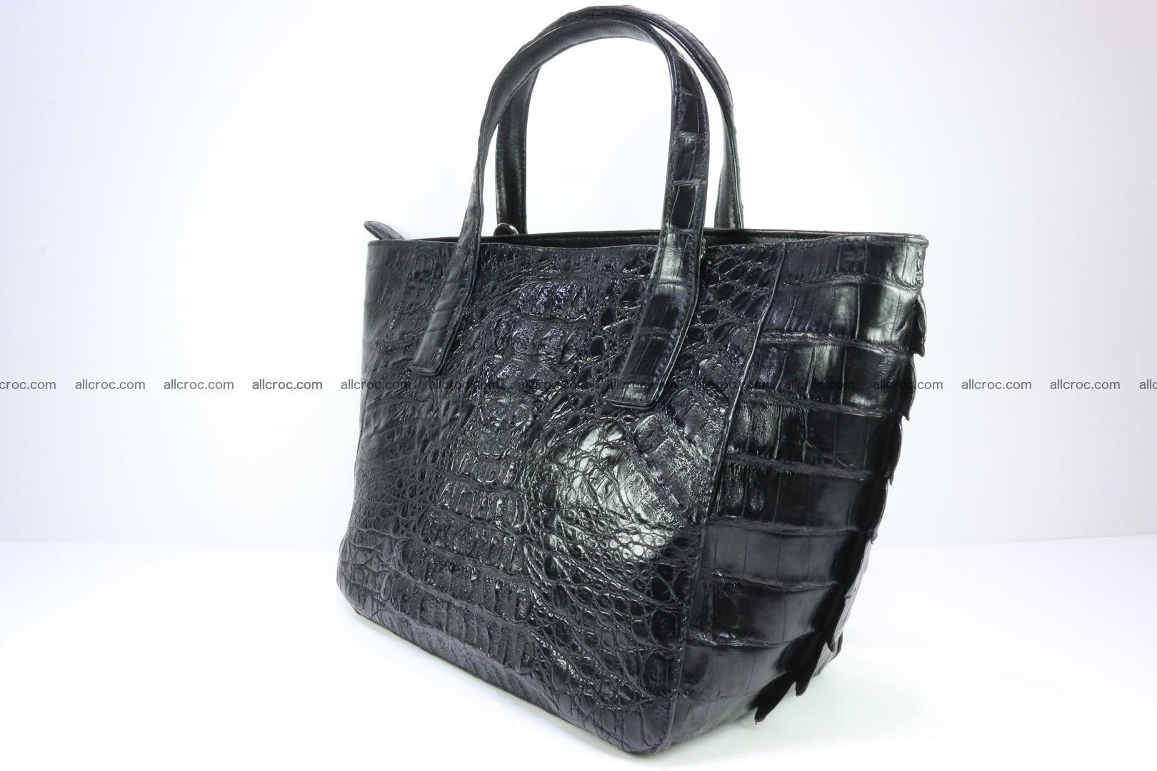 Genuine crocodile women's handbag 060 Foto 5