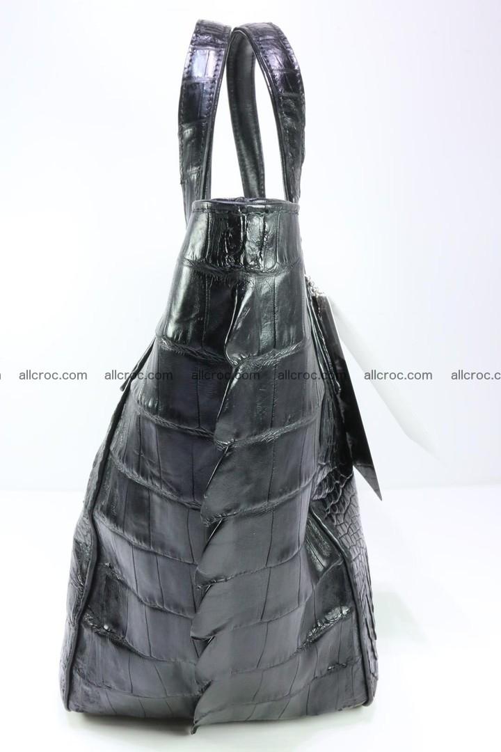 Genuine crocodile women's handbag 060 Foto 7