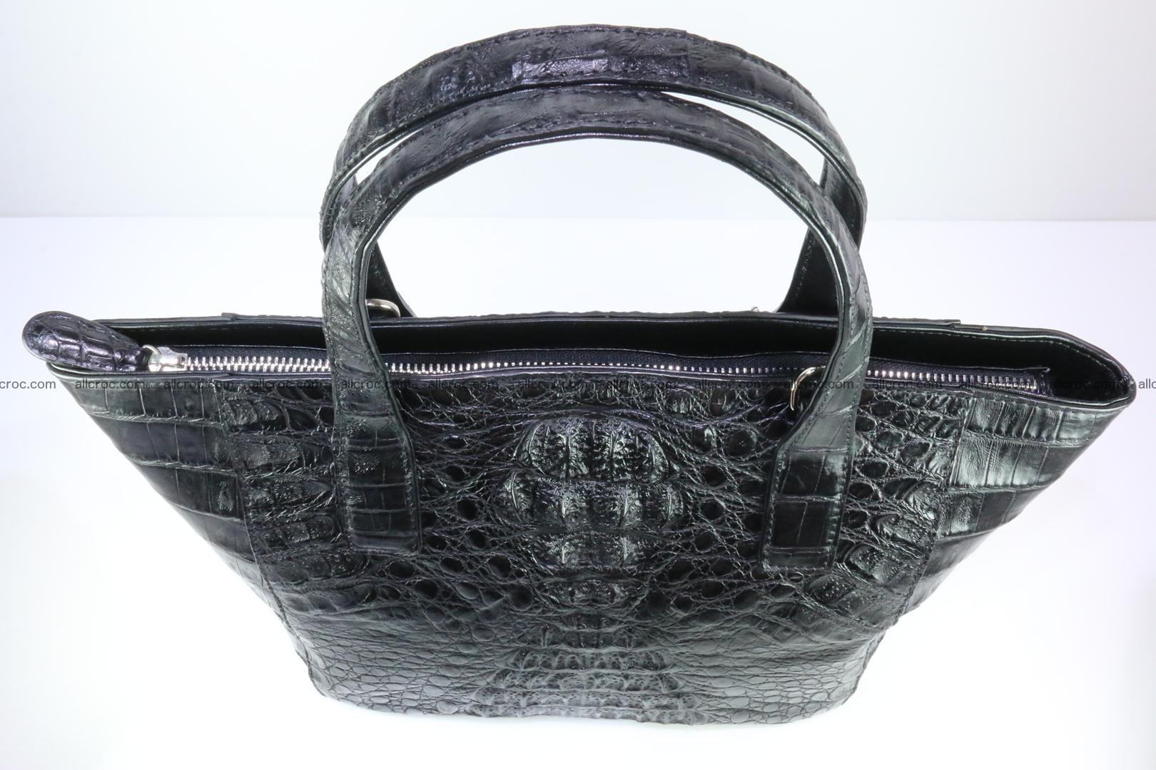 Genuine crocodile women's handbag 060 Foto 8