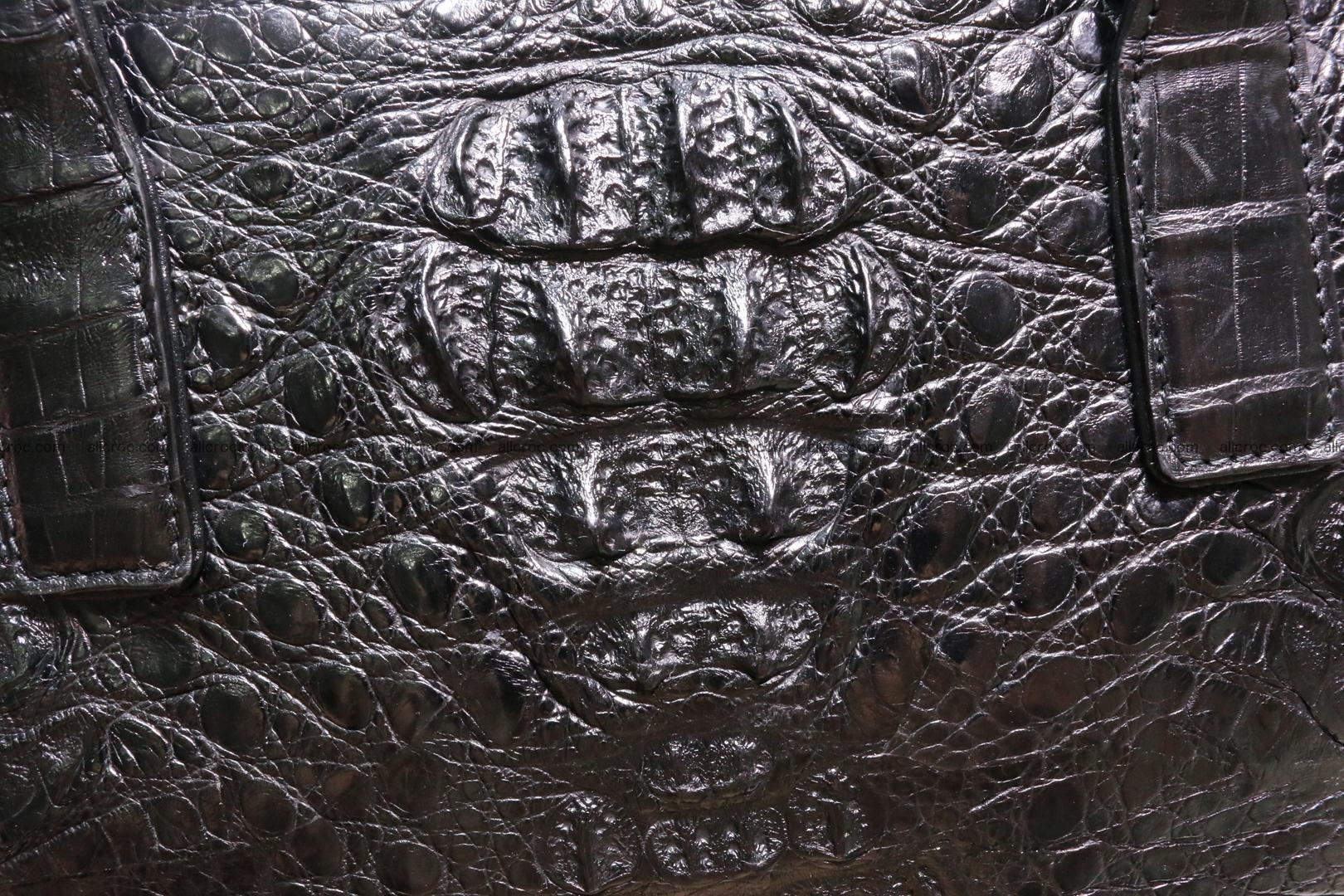 Genuine crocodile women's handbag 060 Foto 3